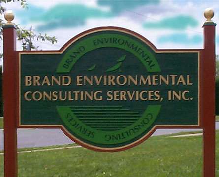 Brand Environmental Consulting Services, Inc. Sign